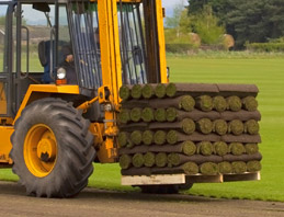 turf rolls large scale application trueturf