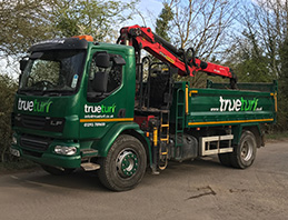 trueturf delivery lorry